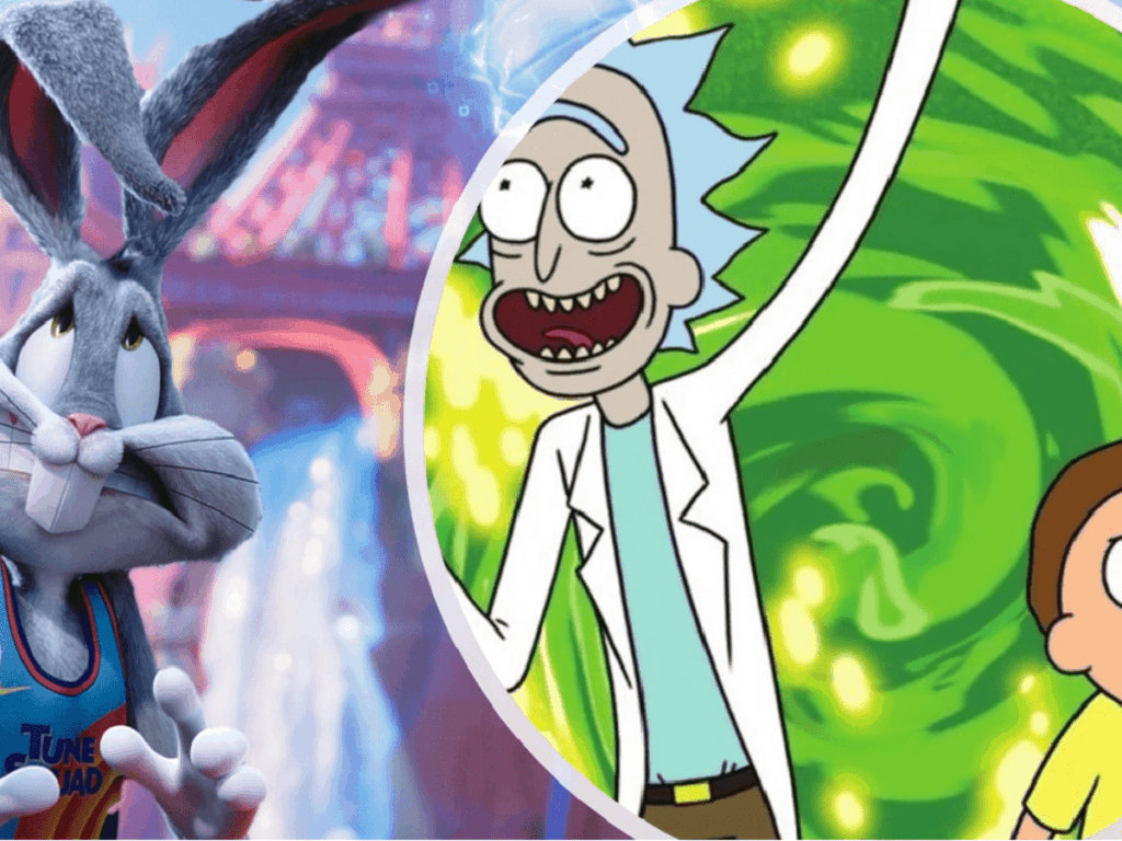 The Space Jam: New Legacy Muestra cameo de Rick y Morty
